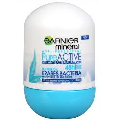 Minerální Antiperspirant Roll-On 48H Pure Active 50 ml
