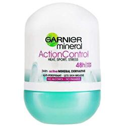 Minerální deodorant Action Control Roll-on 48h pro ženy 50 ml