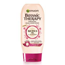 Posilující balzám s ricinovým a mandlovým olejem pro slabé a lámající se vlasy Botanic Therapy (Fortifying Balm -Conditioner) 200 ml