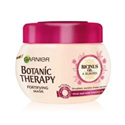 Posilující maska s ricinovým a mandlovým olejem pro slabé a lámající se vlasy Botanic Therapy (Fortifying Mask) 300 ml