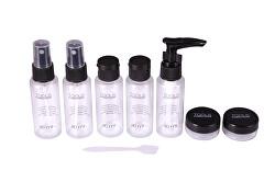Sada cestovných fľaštičiek na kozmetiku Tools Travel Beauty Kit
