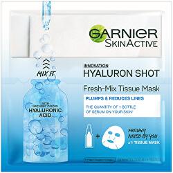 Textilné maska s kyselinou hyalurónovou pre hydratovanú a vypnutú pleť ( Fresh Mix Tissue Mask) 33 g