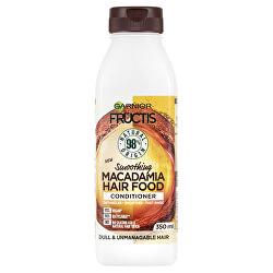 Uhlazující kondicionér pro nepoddajné vlasy Fructis Hair Food (Macadamia Smoothing Conditioner) 350 ml