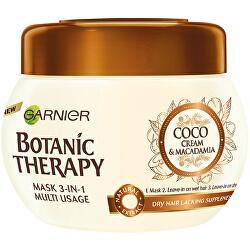 Vyživující a zvláčňující maska Botanic Therapy (Coco Milk & Macadamia Mask) 300 ml