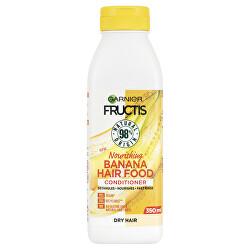 Vyživující kondicionér pro suché vlasy Fructis Hair Food (Banana Nourishing Conditioner) 350 ml