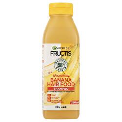 Șampon nutritiv pentru părul uscat Fructis Hair Food (Banana Nourishing Shampoo) 350 ml