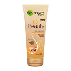Zkrášlující tělový peeling (Oil Beauty Scrub) 200 ml