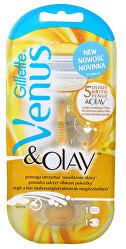 Venus & Olay dámsky holiaci strojček + 1 hlavica