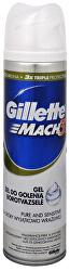 Gel na holení pro citlivou pleť Mach3 Pure And Sensitive (Gel) 200 ml