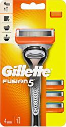 Holicí strojek Gillette Fusion Manual + 4 hlavice