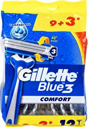 Pánská jednorázová holítka Gillette Blue3 9+3 ks