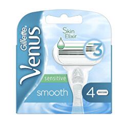 Náhradní hlavice Venus Smooth Sensitive 4 ks