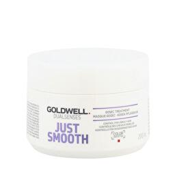 Uhlazující maska na nepoddajné vlasy Dualsenses Just Smooth (60 SEC Treatment Mask)