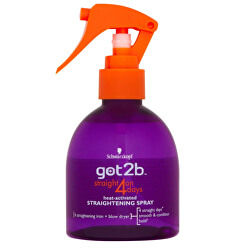Sprej na narovnání vlasů Straight On 4 Days (Straightening Spray) 200 ml