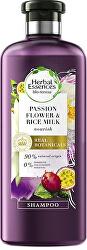 Vyživující šampon na vlasy Nourish Passion Flower & Rice Milk (Shampoo) 400 ml