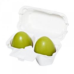 Čisticí mýdlo pro všechny typy pleti (Green Tea Egg Soap) 2 x 50 g