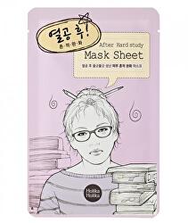 Čistiaca plátýnková maska After Hard Study (After Mask Sheet) 16 ml