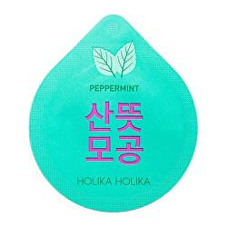 Čistiaca pleťová maska pre problematickú pleť Peppermint Superfood Capsule Pack ( Clean sing Mask) 10 ml