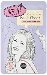 Plátýnková maska pre unavenú pleť After Drinking (After Mask Sheet) 16 ml