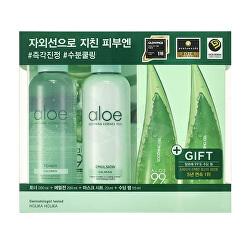 Dárková sada hydratační a zklidňující pleťové péče Aloe (Moisture Soothing Set)