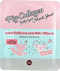 Plátýnková kolagénová pleťová maska Pig Collagen (Jelly Gel Mask Sheet) 25 ml