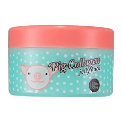 Nočné upokojujúci pleťová maska Pig Collagen (Jelly Pack) 80 ml