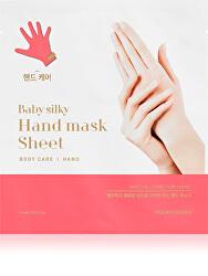 Hydratační maska na ruce Baby Silky (Hand Mask Sheet) 15 ml