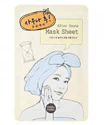 Plátýnková maska na rozšírené póry After Sauna (After Mask Sheet) 16 ml