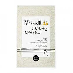 Rozjasňující plátýnková maska Makgeolli (Brightening Mask Sheet) 20 ml