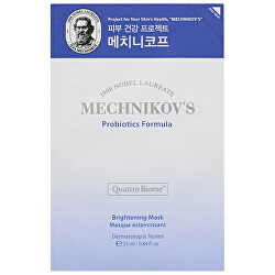 Rozjasňujúci plátýnková maska Mechnikova ´s Probiotics Formula (Brightening Mask) 25 ml