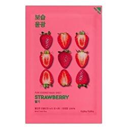 Osvěžující plátýnková maska s výtažky z jahod Strawberry (Pure Essence Mask Sheet) 20 ml
