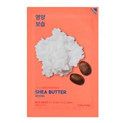 Vyživující plátýnková maska s bambuckým máslem Shea Butter (Pure Essence Mask Sheet) 20 ml