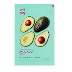 Zjemňující plátýnková maska Avocado (Pure Essence Mask Sheet) 20 ml