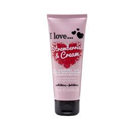 Vyživující krém na ruce s vůní jahod s krémem (Strawberries & Cream Super Soft Hand Lotion) 75 ml