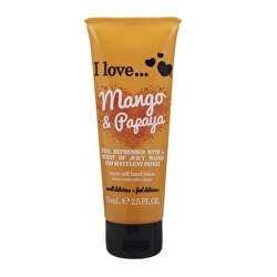 Tápláló kézkrém mangó és papaya illattal (Mango & Papaya Super Soft Hand Lotion) 75 ml