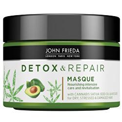 Detoxikační maska pro poškozené vlasy Detox & Repair (Masque) 250 ml