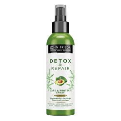 Sprej pro vlasy namáhané teplem Detox & Repair (Care & Protect Spray) 200 ml