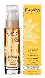Rozjasňující suchý olej na pleť, tělo a vlasy ze žlutého banánu BIO Radiance (Precious Oil Yellow Banana) 50 ml