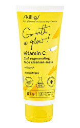 Čisticí a regenerační pleťová maska Vitamin C (2 in 1 Regenerating Face Cleanser-Mask) 75 ml