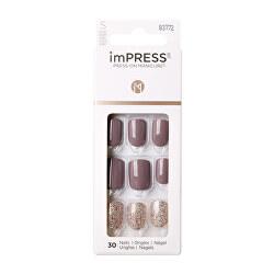 Samolepící nehty imPRESS Nails Flawless 30 ks