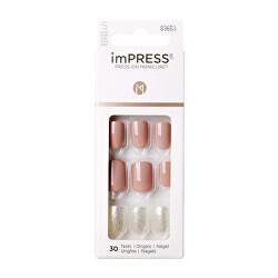 Samolepící nehty imPRESS Nails One More Chance 30 ks