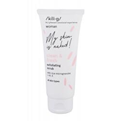 Pleťový peeling pro všechny typy pleti Woman Clean & Fresh (Exfoliating Scrub) 75 ml