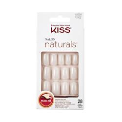 Přírodní nehty vhodné pro lakování 65996 Salon Naturals (Nails) 28 ks