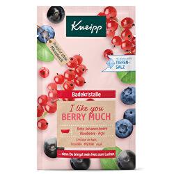 Sůl do koupele I Like You Berry Much 60 g