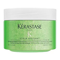 Čisticí peeling  na vlasy Scrub Apaisant (Soothing Scrub Clenaser) 250 ml