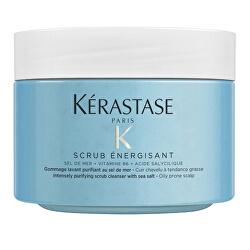 Čisticí peeling pro mastnou pokožku hlavy Scrub Énergisant (Intensely Purifying Scrub Clenaser) 325 g