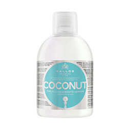 Šampon pro poškozené vlasy KJMN (Coconut Shampoo) 1000 ml