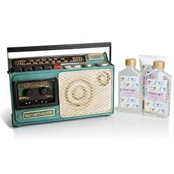 Dárková sada tělové péče Vintage Collection Radio Cassette
