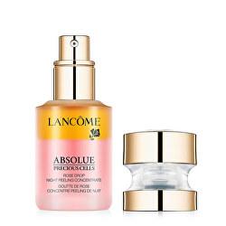 Nočné dvojfázový koncentrát pre rozjasnenie pleti Absolue Precious Cells (Rose Drop Night Peeling Concentrate ) 15 ml