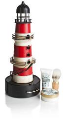 Pánska sada kozmetiky na holenie červený maják (Red Light house Set)